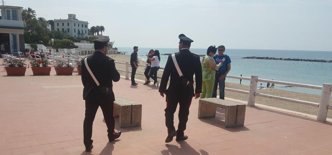 Serrati controlli a Santa Marinella scoperta banda di ladri d'appartamento