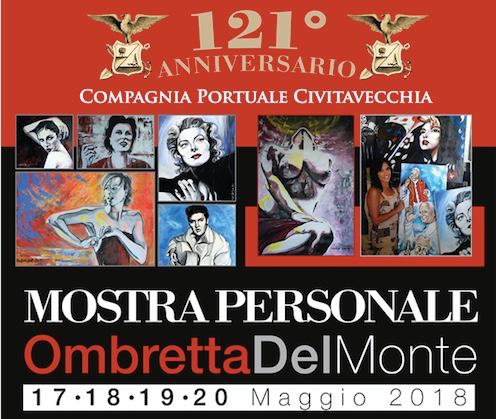 Alla Compagnia Portuale di Civitavecchia la mostra personale di Ombretta del Monte
