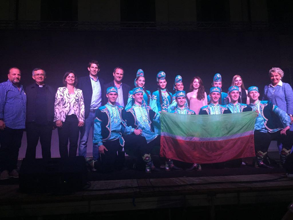 Tarquinia, grande partecipazione allospettacolo di danza Tatarstan