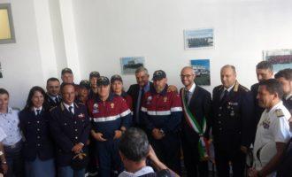 Civitavecchia, inaugurata a via Giusti l'Associazione Nazionale della Polizia di Stato
