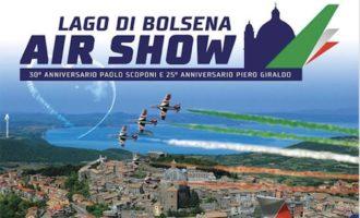 Tutto pronto per il lago di Bolsena Air Show sul lungolago di Montefiascone