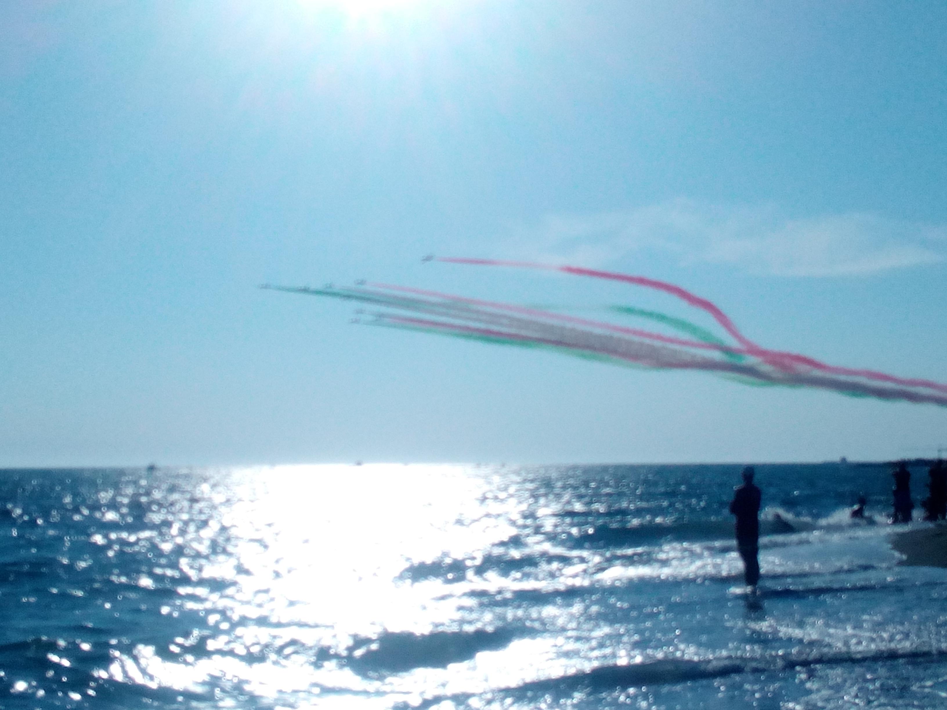 Conto alla rovescia per le Frecce Tricolori a Ladispoli