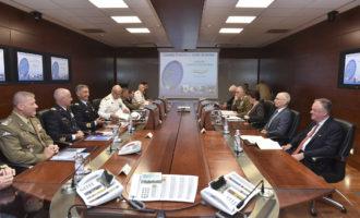 Saluto del ministro Trenta ai militari impegnati nelle missioni internazionali