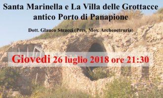 """Santa Marinella, importante incontro con Archeoetruria su """"Villa delle Grottacce"""" antico porto di Panapione"""