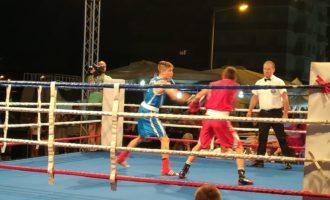 Boxe a Tarquinia ottimo risultato per Christian Gasparri e Miriam Podda contro la Moldavia