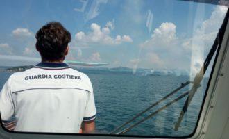 """""""Air Show Lago di Bolsena 2018"""" in sicurezza con il contributo della Guardia Costiera"""