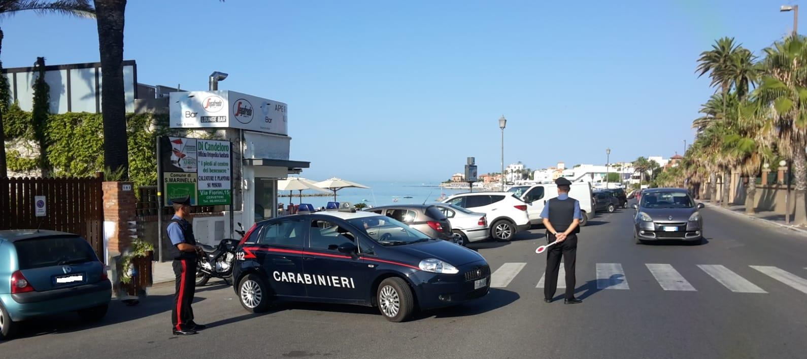 Controlli sul litorale dei Carabinieri di Civitavecchia due arresti