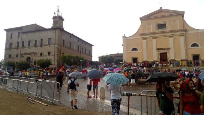 La pioggia non ferma il Palio di Allumiere vince la Polveriera