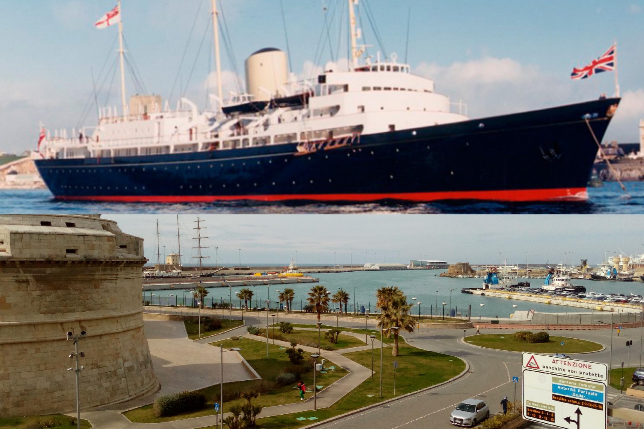 """Anno 1992 il Britannia al porto di Civitavecchia tra """"invisibili"""" e uomini d'affari"""