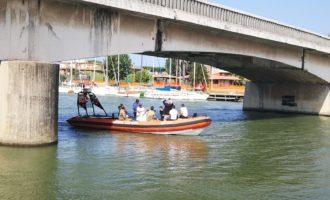 Ponte della Scafa, sopralluogo del genio militare per valutare la possibilità di un ponte alternativo