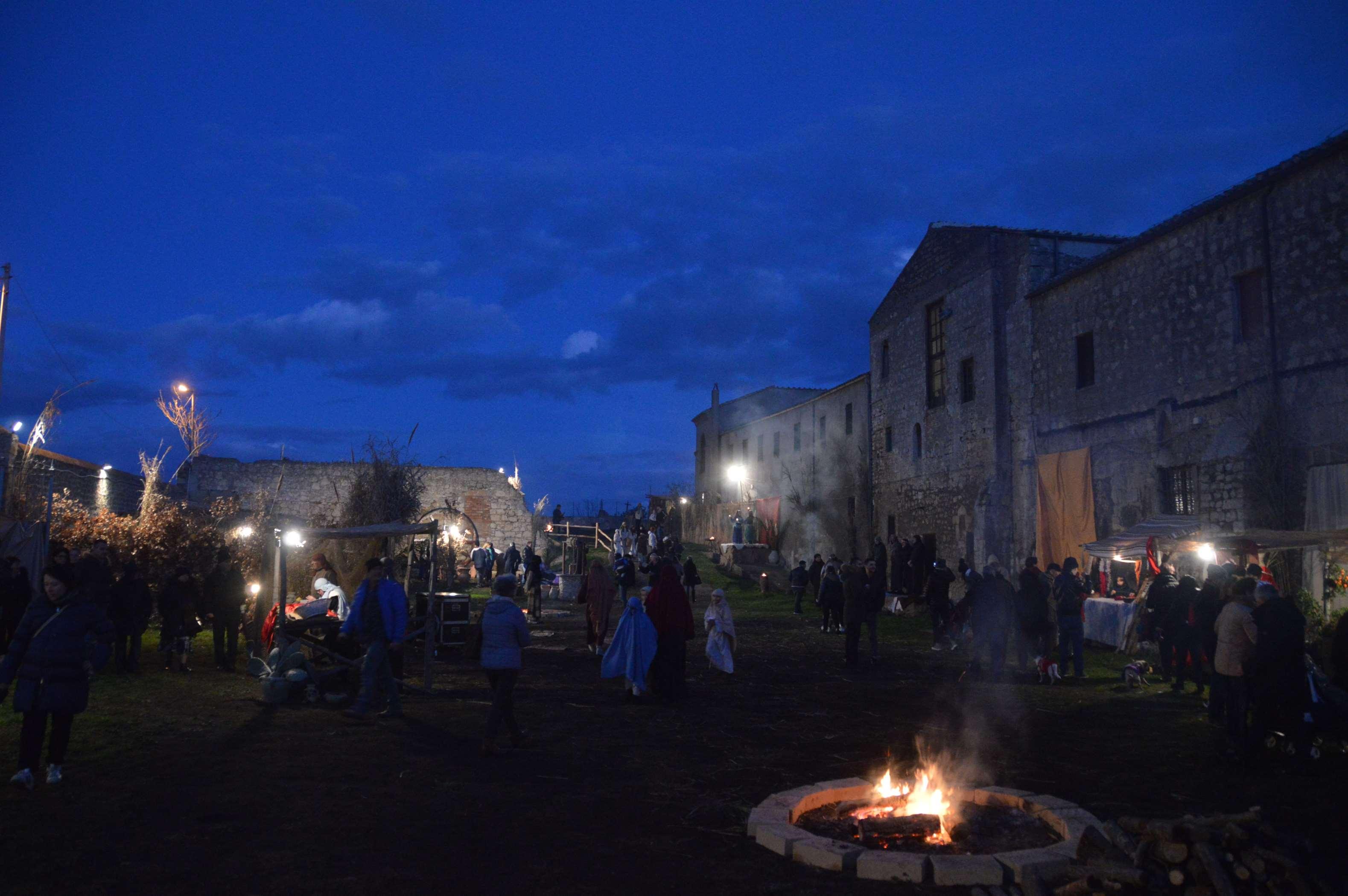 Il Presepe vivente di Tarquinia al convento di San Francesco