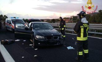 Grave incidente sull'A12 coinvolto un 30enne di Tarquinia intervenuta l'eliambulanza