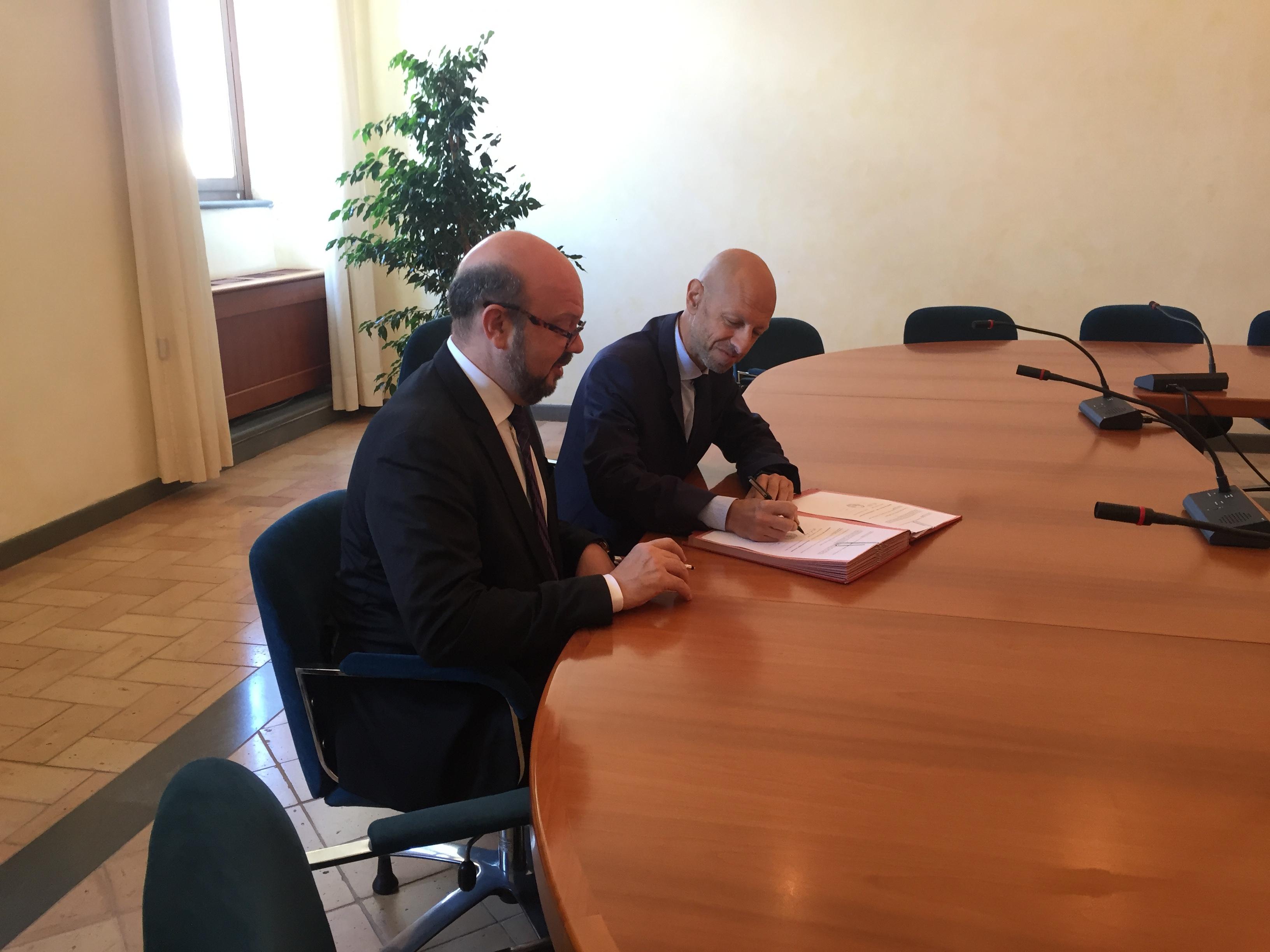 Siglato l'accordo tra l'Unitus di Viterbo  e l'Universidade Federal do Paranà