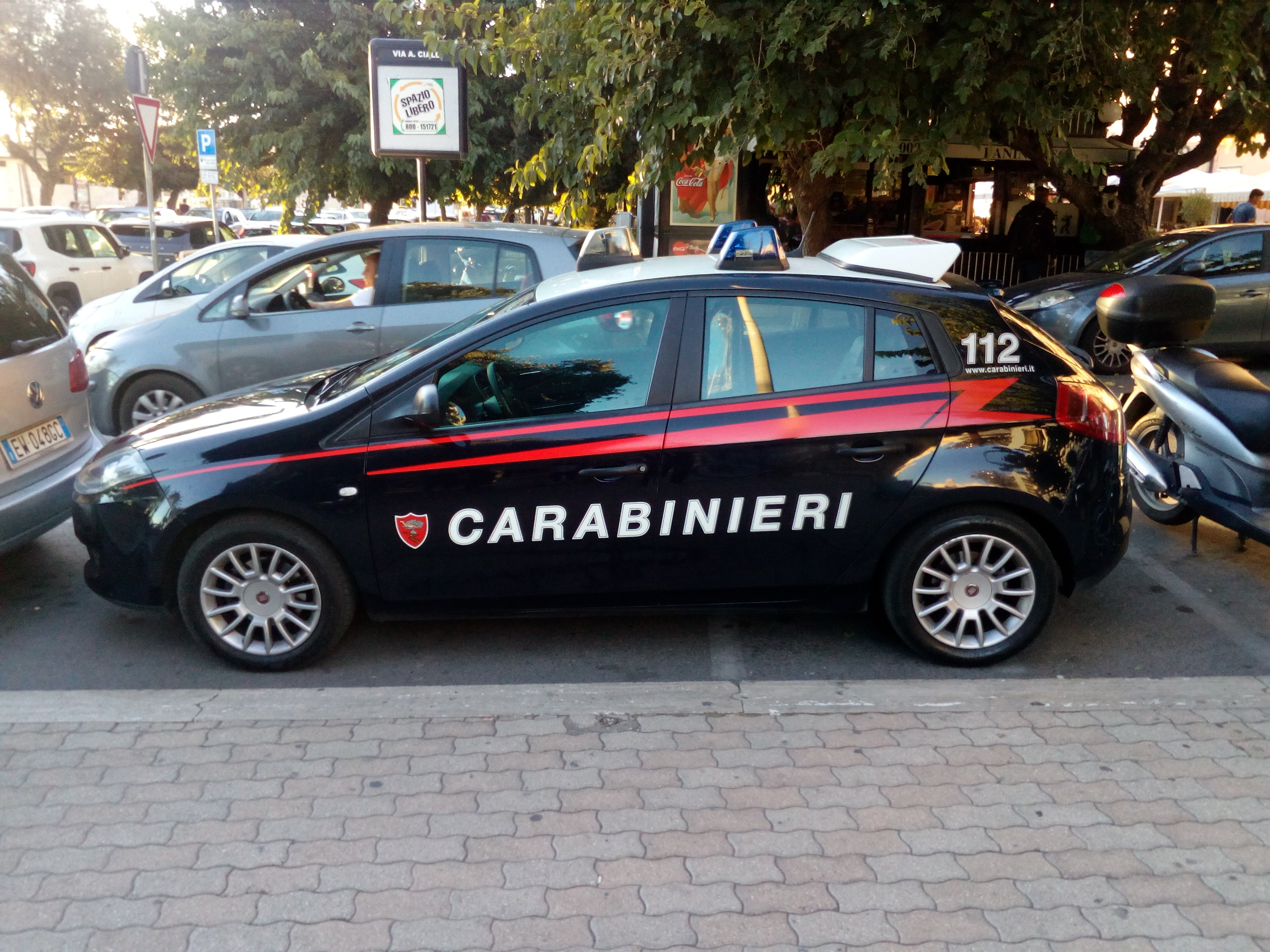Santa Marinella, Carabinieri arrestano pusher di hashish in flagranza