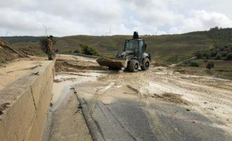 L'Esercito Italiano interviene per fronteggiare la recente ondata di maltempo che ha colpito la Calabria