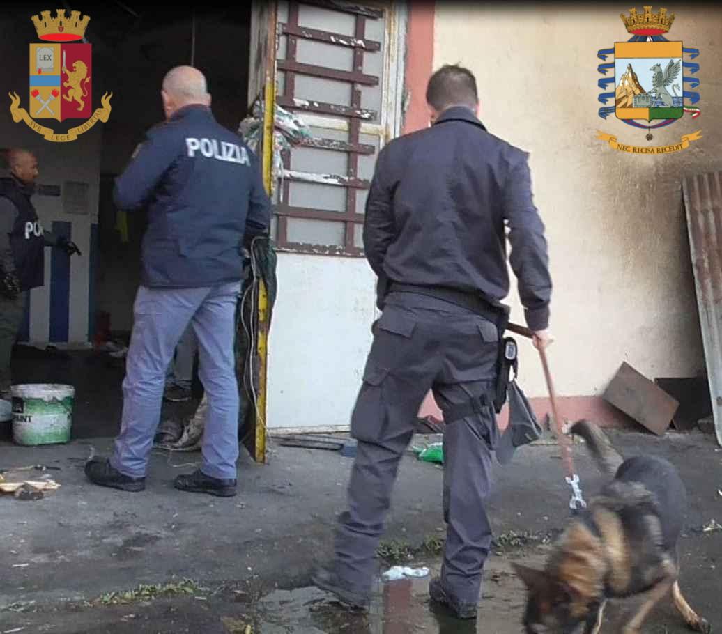 """Civitavecchia, controlli all'ex caserma """"De Carolis"""" arrestato 30enne straniero"""
