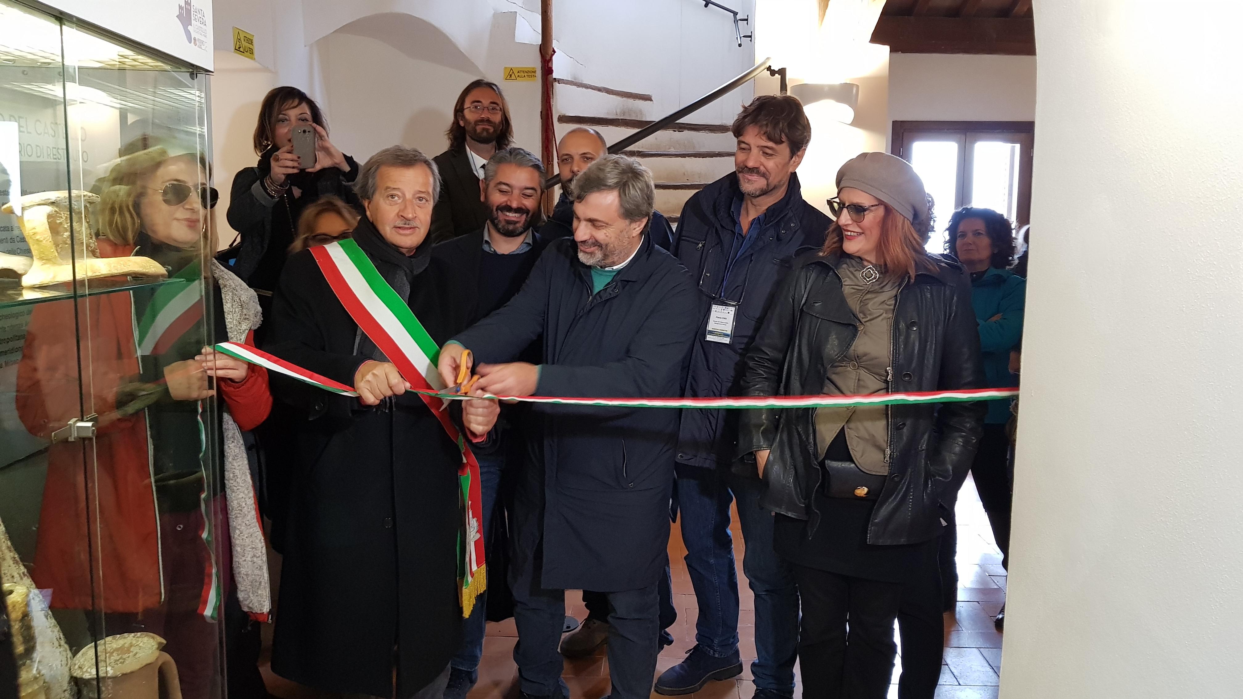 Santa Severa: inaugurato al castello il laboratorio di restauro del science park Guglielmo Marconi