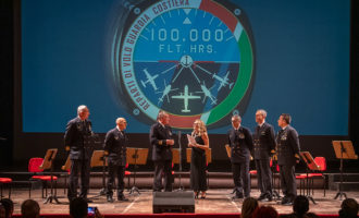 Celebrata a Catania la nascita della componente aerea della Guardia Costiera