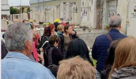 Si ripete la visita al Cimitero Monumentale di Civitavecchia