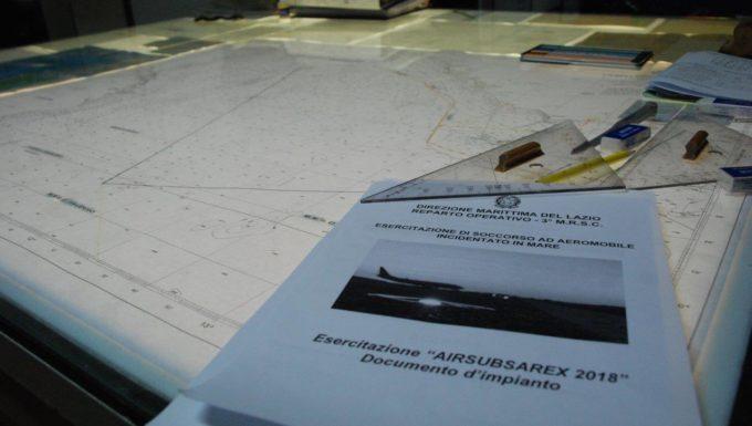 Simulato l'ammaraggio di emergenza di un aereo di fronte a Fiumicino