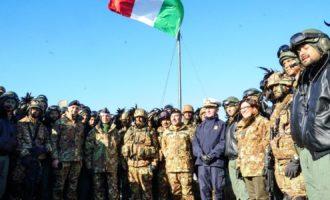 A Monte Romano l'esercito conclude la 2^ sessione operativa 2018 alla presenza del ministro della Difesa