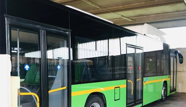 A Civitavecchia due nuovi autobus a metano