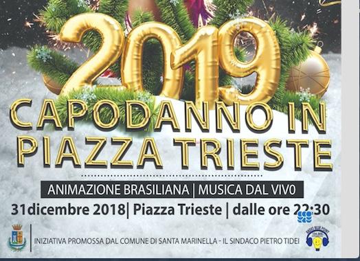 A Santa Marinella il Capodanno si festeggia in piazza a ritmo di samba e balli di gruppo