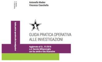 """L'arte delle indagini si arricchisce di una nuova opera: """"Guida pratica operativa alle investigazioni"""""""