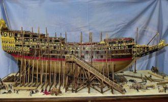 Al via a Tarquinia la mostradi modellismo navale di Luigi Volante