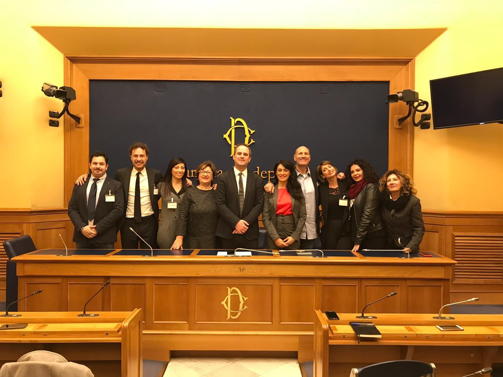 L'associazione civitavecchiese Donne in Movimento alla Camera dei Deputati