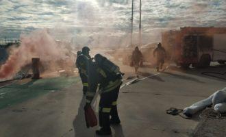 Esercitazione antincendio e antinquinamento al Porto Turistico di Riva di Traiano di Civitavecchia
