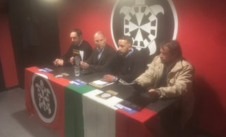 CasaPound presenta Dario Mele come candidato Sindaco di Civitavecchia