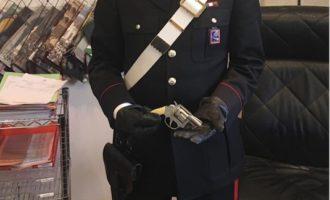 Controlli dei Carabinieri di Civitavecchia, sequestrata una pistola lanciarazzi