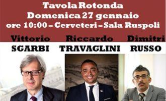 L'On. Vittorio Sgarbi domenica 27 gennaio a Cerveteri per il Festival contro il razzismo