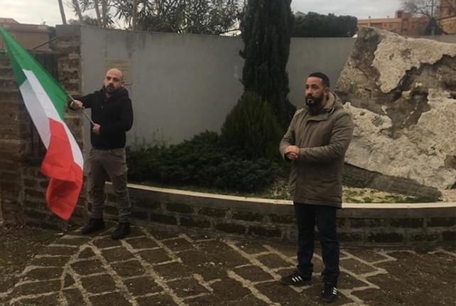 CasaPound Italia Civitavecchia rende omaggio ai martiri delle foibe