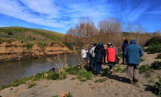 La passeggiata nella valle del fiume Marta conquista gli escursionisti