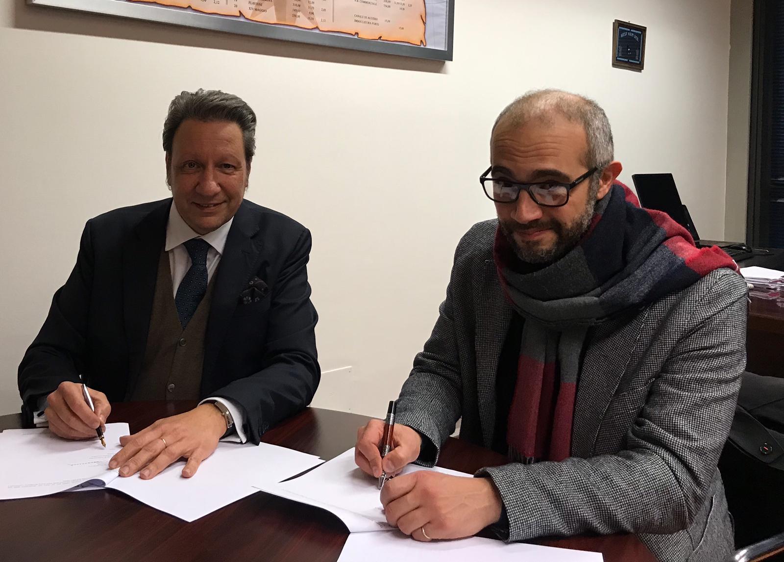 Firmato il protocollo d'intesa Comune – RCT. Le dichiarazioni dell'assessore D'Antò e del dg Portelli