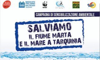 Salviamo il fiume Marta e il mare a Tarquinia