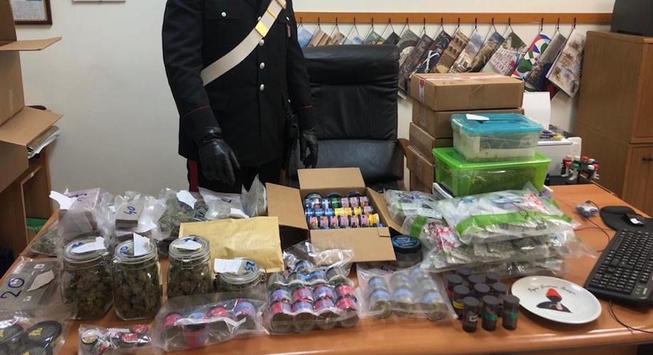 Cerveteri, arrestato pusher che vendeva la droga sui social etichettatura personalizzata e spedizioni in tutta Italia