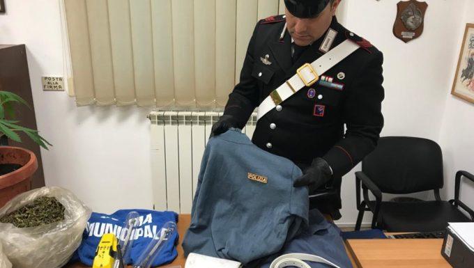 """Scoperto a Cerveteri dai Carabinieri il """"bunker della marijuana"""""""