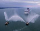 """MSC Bellissima sarà la """"regina del ballo"""" celebrato  il battesimo a Southampton"""