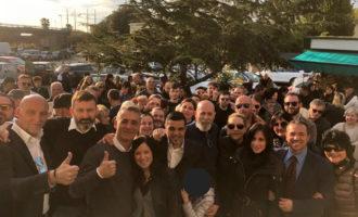 Bagno di folla a San Gordiano per l'apertura della sede della Lega di Civitavecchia