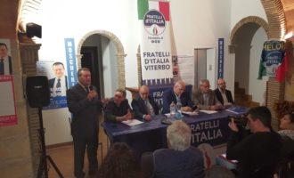 Elezioni Comunali Tarquinia: i Big di Fratelli d'Italia a sostegno di Moscherini