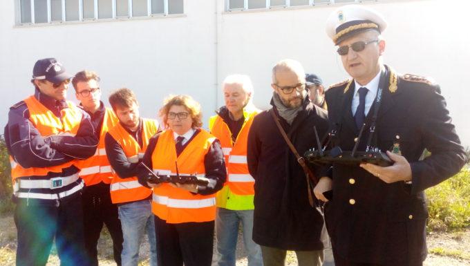 La sicurezza si fa tecnologica droni per la Polizia Locale e la Protezione Civile di Civitavecchia