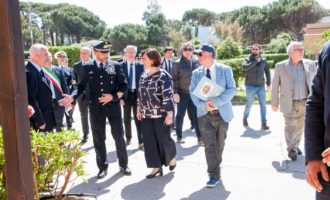 L'International Marconi Day a Santa Marinella s'inaugura con la visita del  ministro della Difesa Elisabetta Trenta e della principessa Elettra Marconi