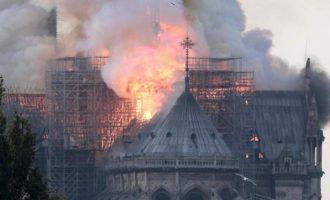 Il Forte Michelangelo di Civitavecchia si tingerà del tricolore francese per Notre Dame
