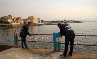 Guardia di Finanza: sequestrati blocchi di amianto in mare a Santa Marinella