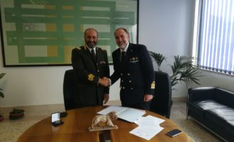 Porto di Civitavecchia, protocollo di intesa tra la Guardia Costiera ed i Vigili del Fuoco
