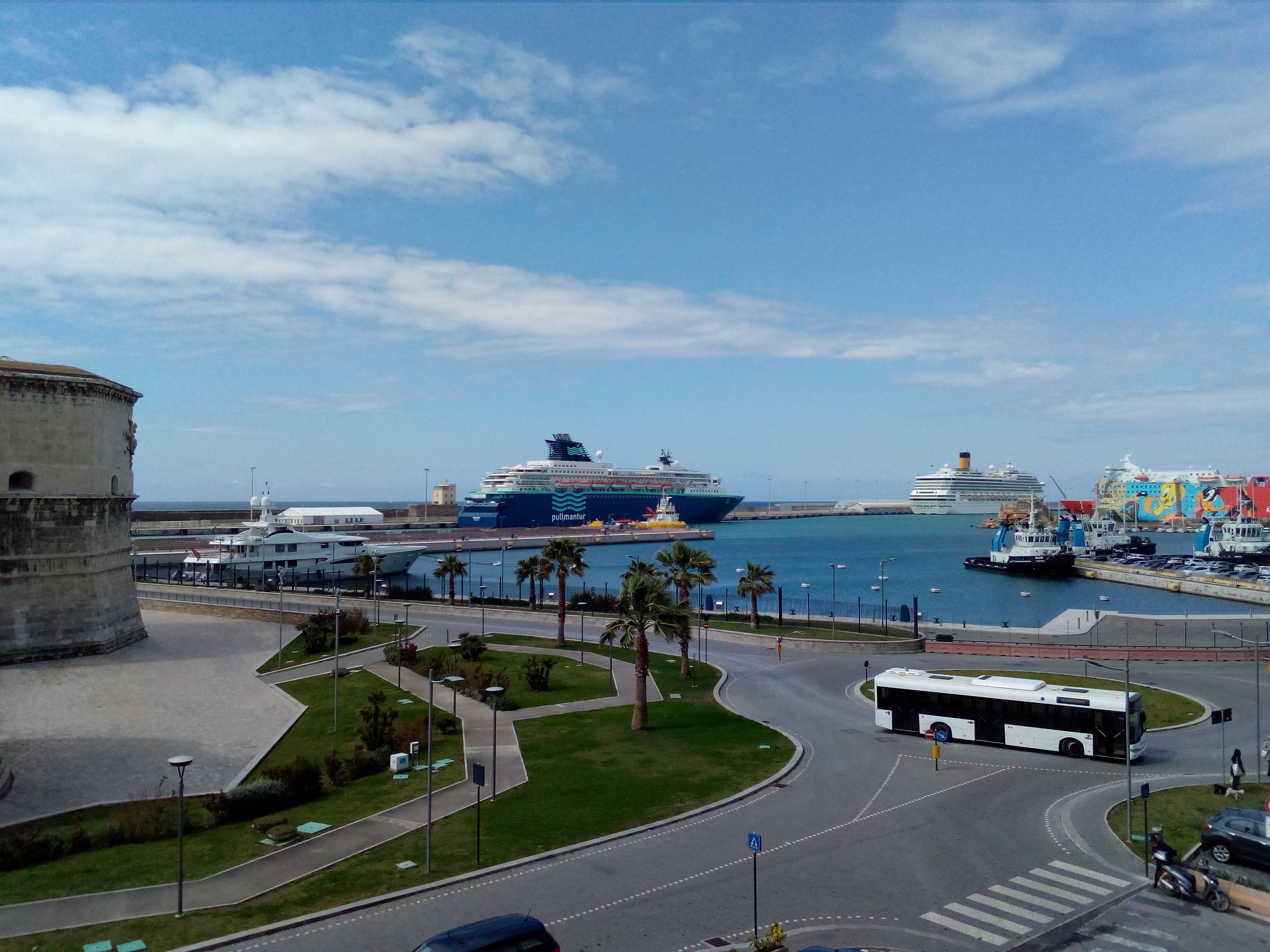 Porto di Civitavecchia, ricoverato allo Spallanzani per presunta febbre era su una nave da crociera