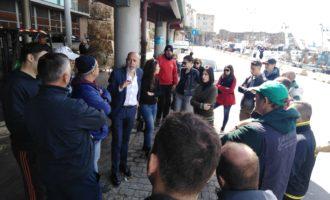 """Civitavecchia, Tedesco ai pescatori: """"Va ricostruito il rapporto tra città e porto"""""""